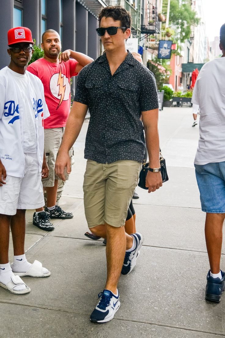 Mikes Teller in NYC The Week In Style | GQ