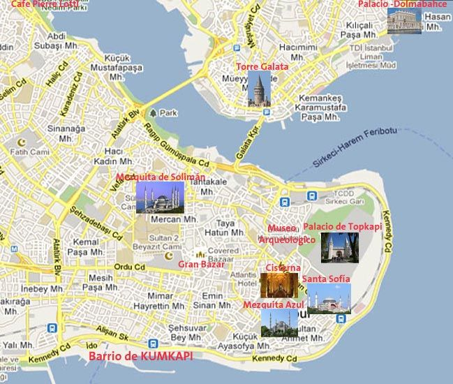 estambul mapa - Buscar con Google