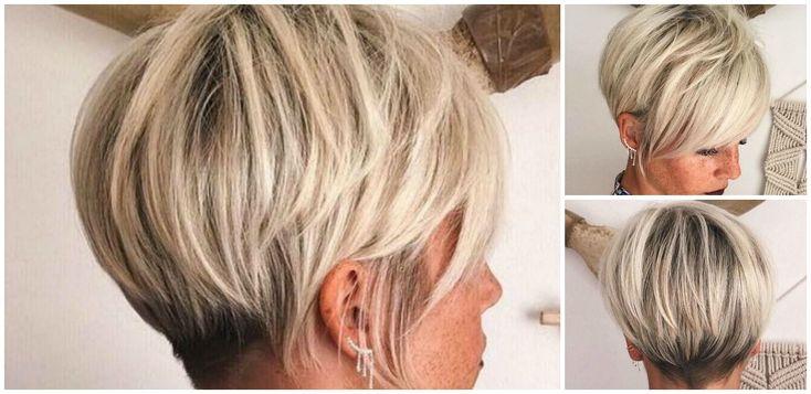 Kurze Haare sind ein Fashionstatement, mit dem Frauen ihr Gesicht perfekt in Szene setzen können. Dabei ist kurz nicht gleich kurz, es gibt zahlreiche unterschiedliche Frisuren und Längeabstufungen und jede Frau kann dabei das richtige Styling für sich selbst finden, egal ob extrem kurzer Pixie oder eleganter Bob. Besonders beliebt ist eine Kombination aus Kurzhaarfrisuren …