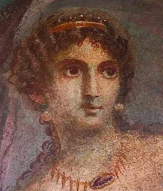fresco, Pompeii, Aphrodite