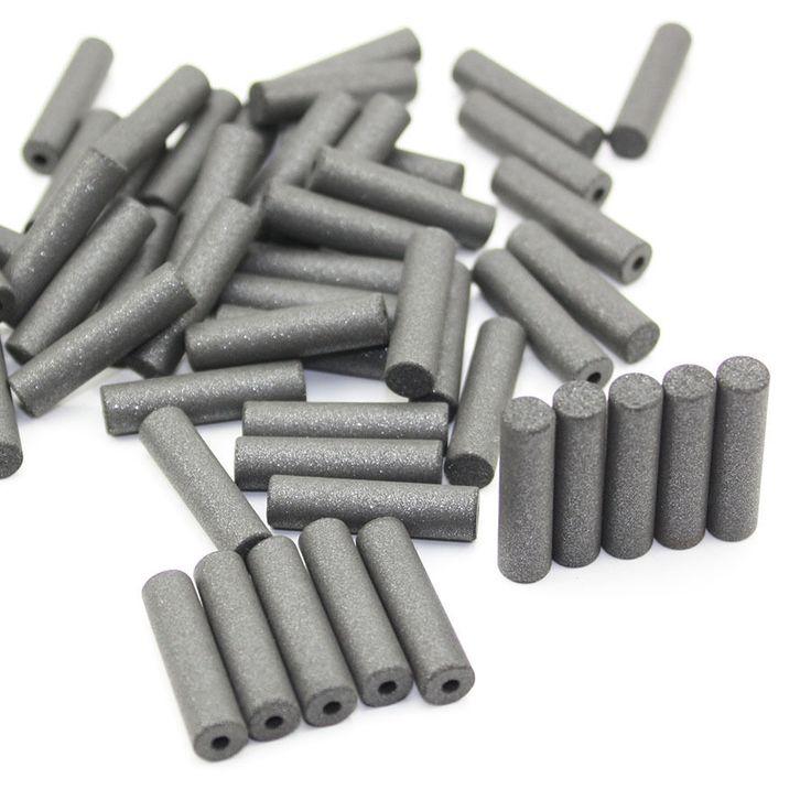 100 PCS Rubber Points Polishing Pillar Wheels For Dental Jewelry Rotary Black #Affiliate