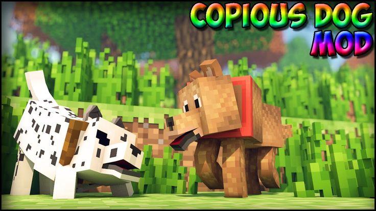 Minecraft Mods Copious Dogs Mod Poodles Dalmations
