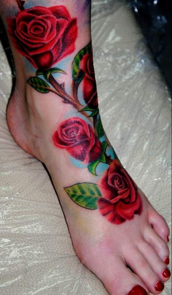Like the roses not so much the placement tattoos for How much for a tattoo