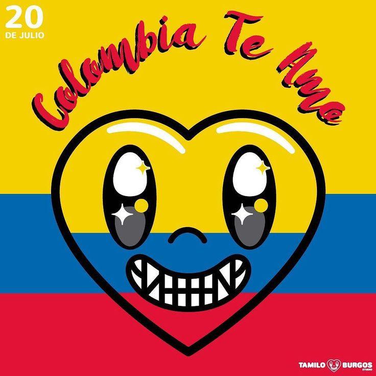 Colombia Te Amo!!! Tu mi Inspiración.  #20dejulio #tamiloburgosstudio #colombiacelebra #SoydeColombia #quecolombiasesienta #diadelaindependencia