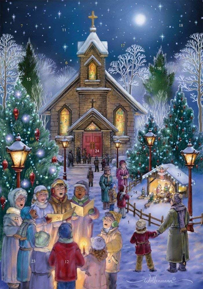 Christmas Ever Midnight Mass Schedule 2020 Midnight Mass Advent Calendar (Countdown to Christmas) CT182XYNNDX