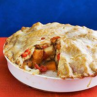 Roasted Vegetable Pie - I am making this for dinner this weekend!