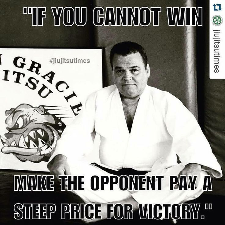 Make them pay a steep price for their victory - Carlson Gracie
