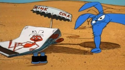 Charlie (the Ant) always outsmarts the Aardvark