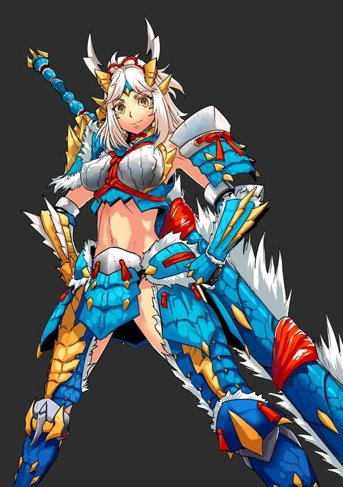Anime Characters Monster Hunter World : Sexy monster hunter google search anime pinterest