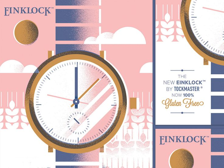 Einklock by Andrew Colin Beck