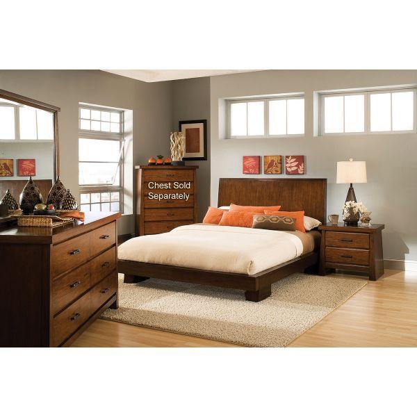 4 Piece Modus Kentfield Solid Wood Bedroom Set: 11 Best Images About Bedroom Furniture On Pinterest