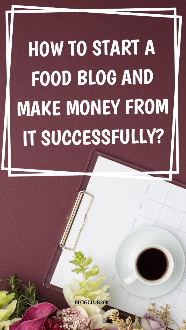 Wie starte ich ein Food-Blog und verdiene damit erfolgreich Geld? ….. Blogging-Tipp …