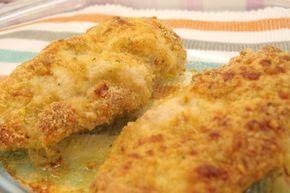 pechugas de pollo empanadas al horno con queso