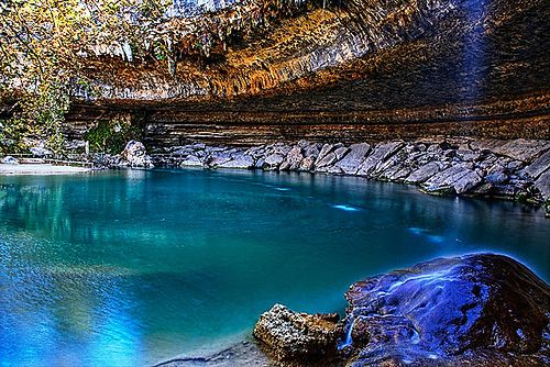 Dave Wilson Photography Hamilton Pool Austin Texas Natural Pool Created When The Ceiling Of