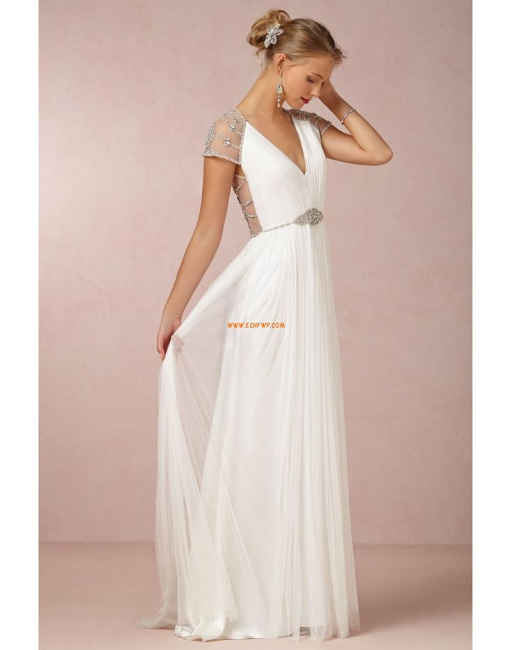 Princesové Na podlahu Nadměrné velikosti Designer Svatební šaty