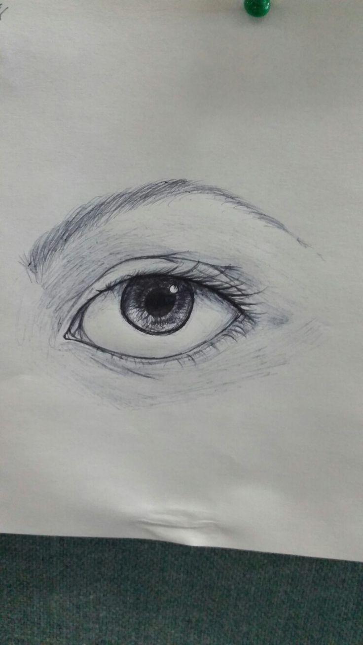 Office pen eye