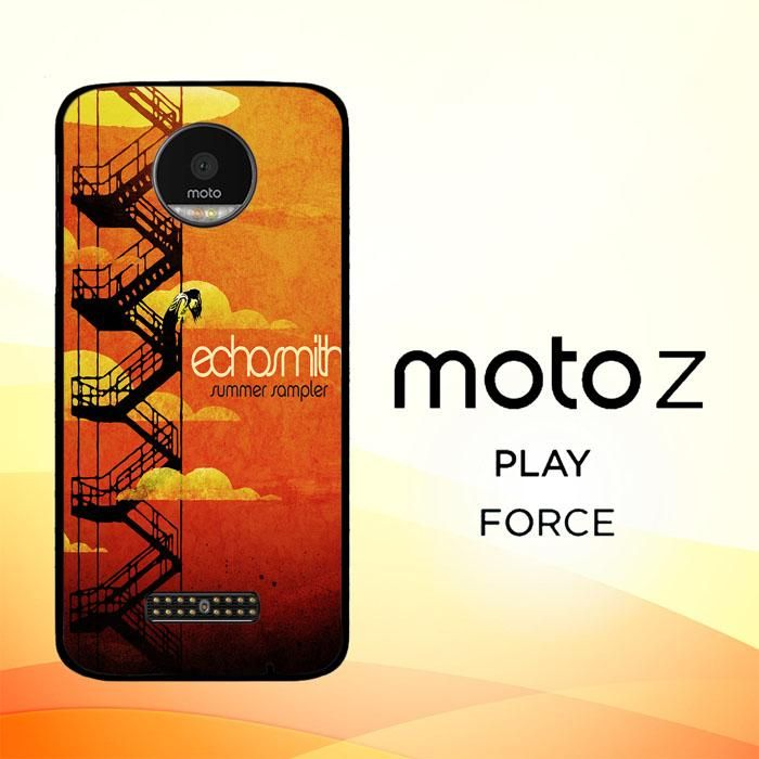 echosmith cool kids Y0678 Motorola Moto Z Force Case