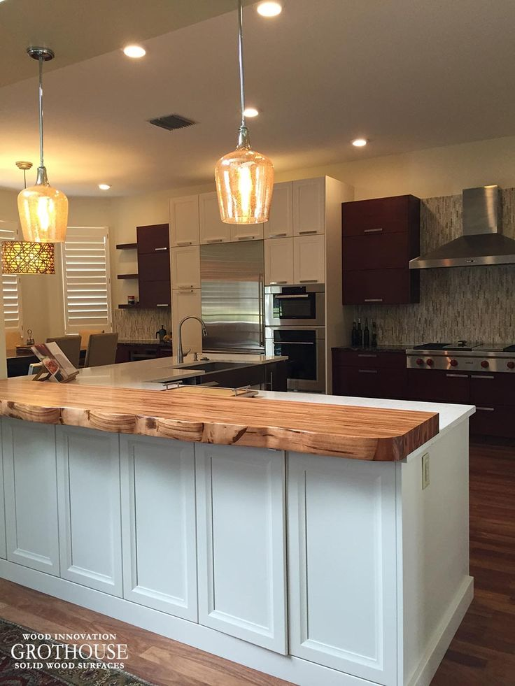 17 best images about live edge wood countertops on for Live wood countertops