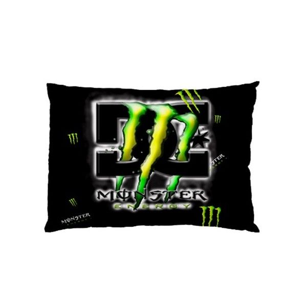 Monster Energy Rectangle Pillow Cases comfortable to sleep code ME1102