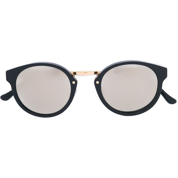 Retrosuperfuture Panama sunglasses (17.340 RUB) ❤ liked on Polyvore featuring accessories, eyewear, sunglasses, black, retrosuperfuture sunglasses, retrosuperfuture glasses, unisex glasses, retrosuperfuture and unisex sunglasses