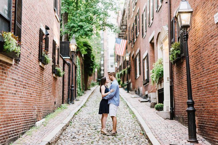 Boston Common & Beacon Hill Engagement Session | Annmarie Swift | Boston Wedding Photographer