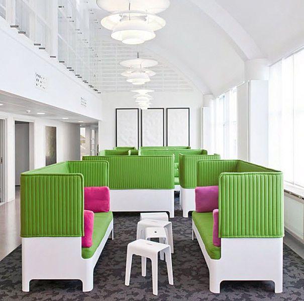 commercial sofa  KOJA by Fredrik Mattson for Blå Station