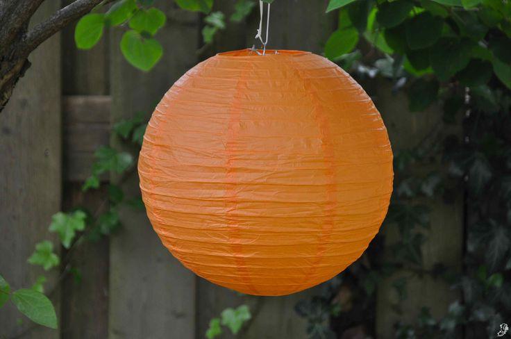 Lampion - Oranje (30, 40 & 50 cm)