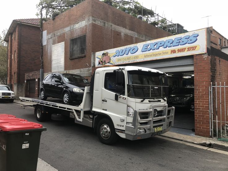 #Towing a Holden Barina from Eastern Ave #Kingsford to Auto Express Houston Lane #Kingsford. When your #car #breaks #down call the local  #towing #service on 0419466591. #Eastern #Suburbs #Towing #Sydney provide #reliable #towing #services throughout #Sydney's #Eastern #Suburbs. Check out our website @ www.easternsuburbstowingsydney.com.au