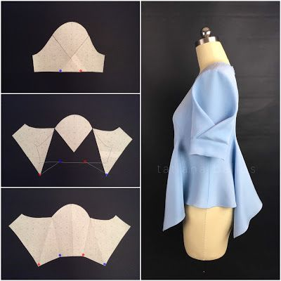 Моделирование проводится на основе одношовного рукава среднего или небольшого объёма. Я бы не советовала брать объемный рукав -...