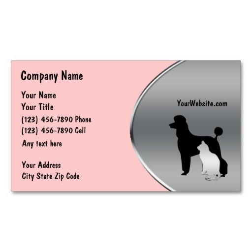 17 best images about veterinarian business cards on pinterest black business card business. Black Bedroom Furniture Sets. Home Design Ideas