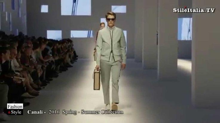 """Italian Fashion"" -  ""Canali""   2016 Spring Summer mp4"