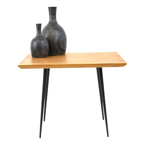 Mols Square side table in black