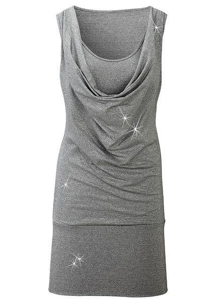 Šaty Štýlové šaty z lesklého materiálu • 29.99 € • Bon prix