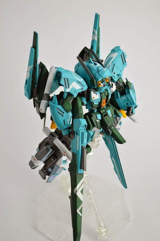 "HGUC 1/144 Anksha ""Gundam Neptune"" Custom Build - Gundam Kits Collection News and Reviews"
