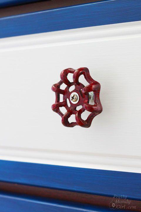 Hometalk :: Spigot Faucet Handle Drawer Pulls