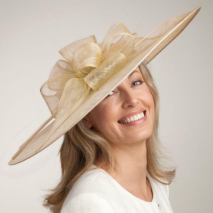 Chapeau de Mariage Candice champagne FAILSWORTH