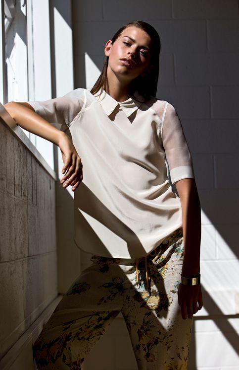 Juliette Hogan Mildred blouse from SS13/14 Kaleidoscope City.