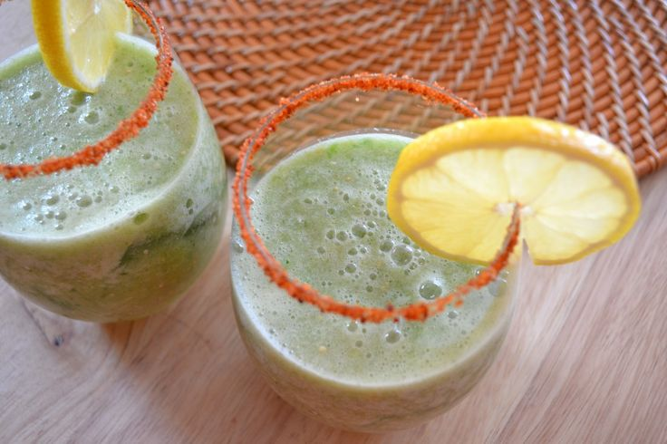 spicy green goodness tomatillo bloody mary