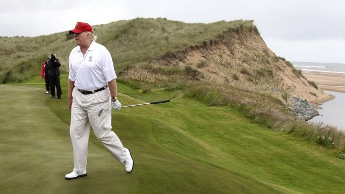 Donald Trump asks to join legal battle against Shetland windfarm | US news | The Guardian
