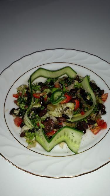 Siyah Fasulye Salatası #blackbeanssalad