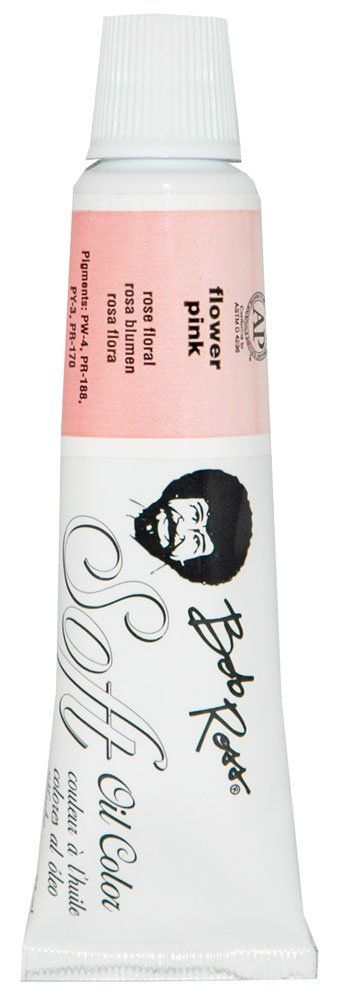 Bob Ross MR6706 37-Ml Soft Artist Oil Color, Flower Pink - https://tryadultcoloringbooks.com/bob-ross-mr6706-37-ml-soft-artist-oil-color-flower-pink/ - #PaintBrushes
