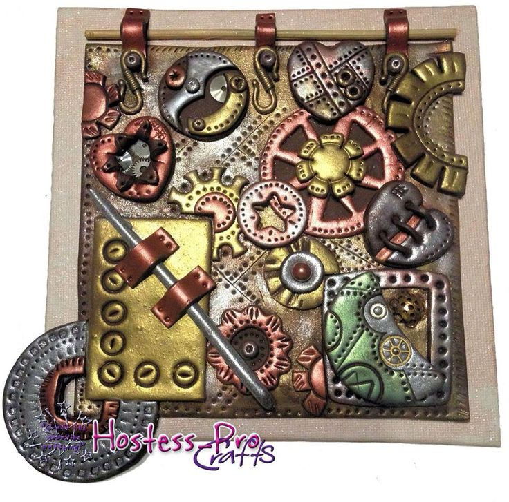 Steampunk polymer clay  Www.hostesspro.co.za