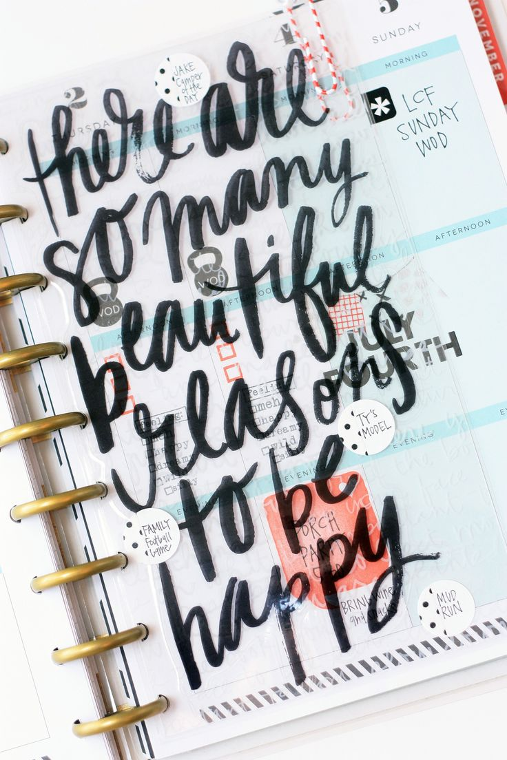 July weekly spread using a jumbo mambiSTICKS in The Happy Planner™ of mambi Design Team member April Orr | me & my BIG ideas