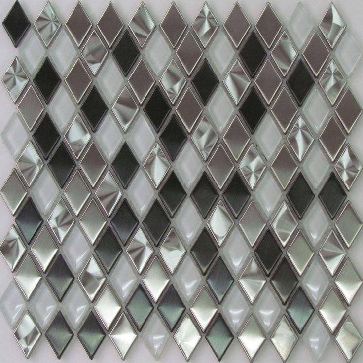 ExoTiles - 807 Diamond Pattern Mosaic Tiles, $363.00…