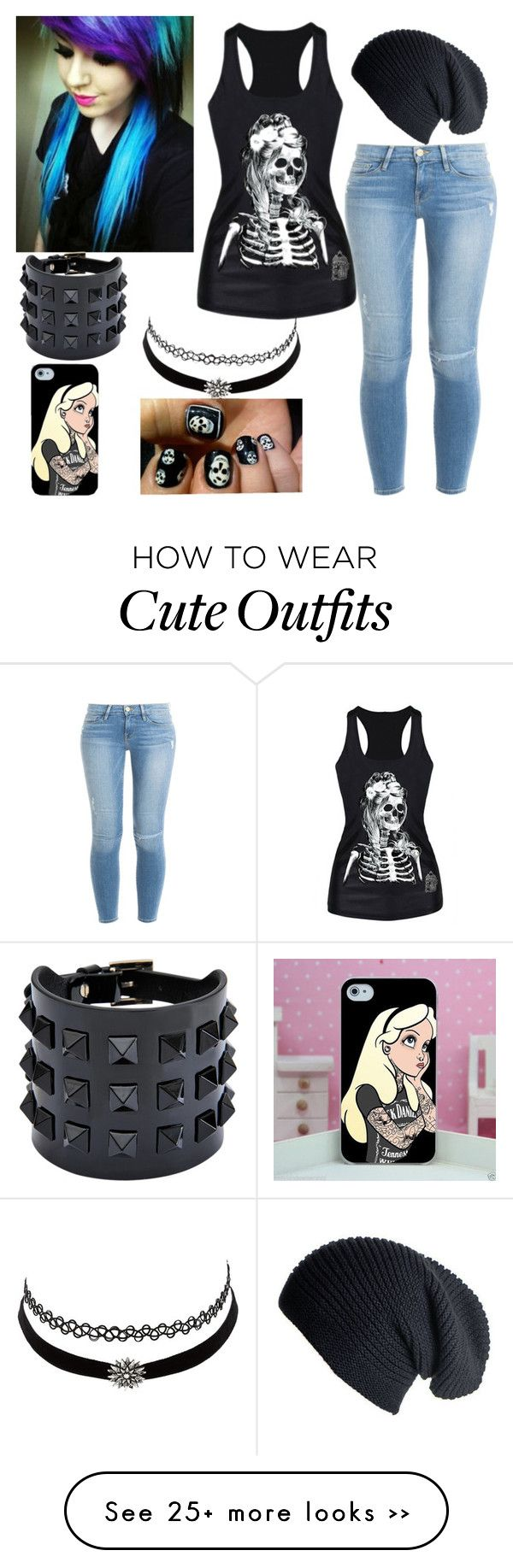 """Cute Emo Outfit"" by i-love-pandas-993 on Polyvore"