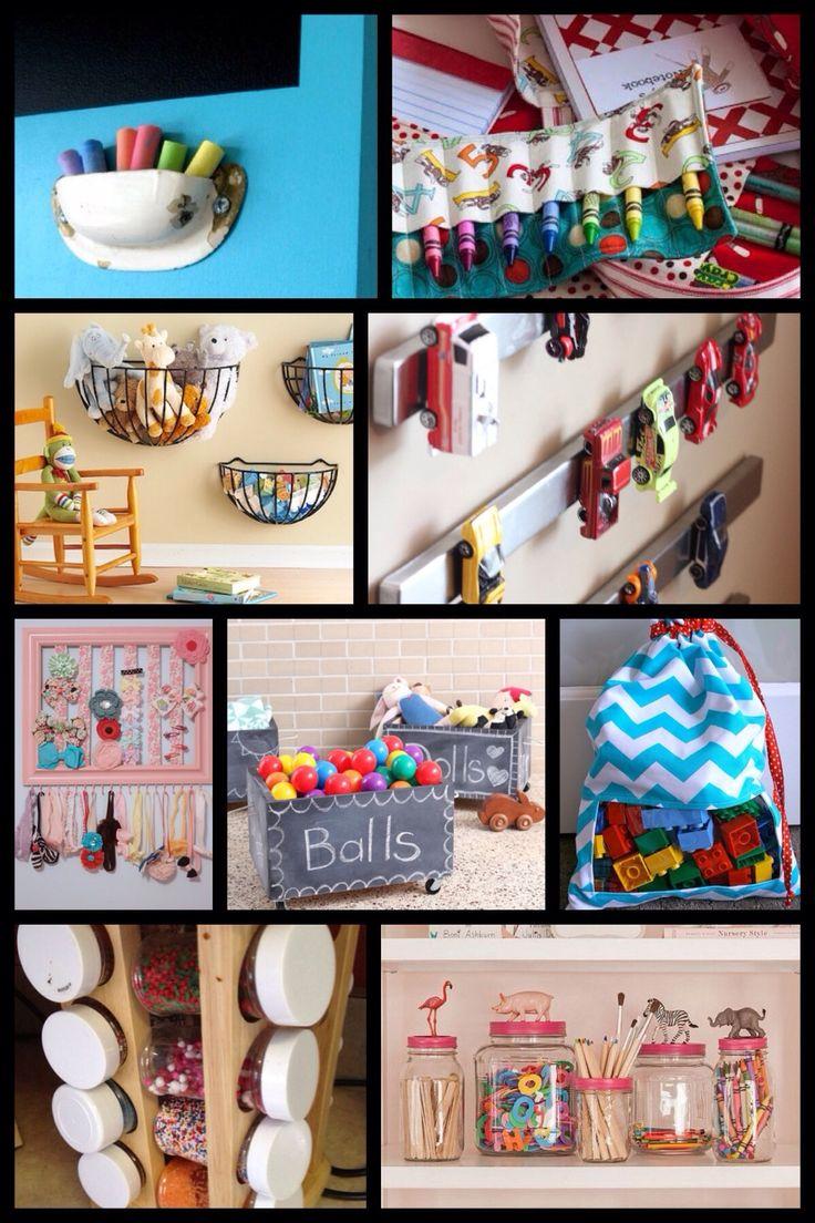 DIY opbevaringsideer // Børneværelset  Storage kidsroom