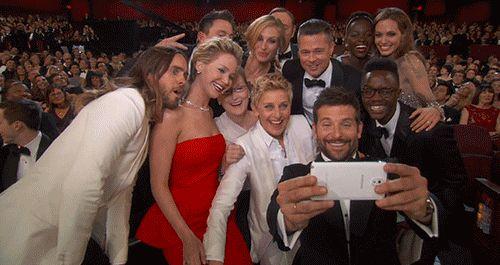 Ellen broke the internet.