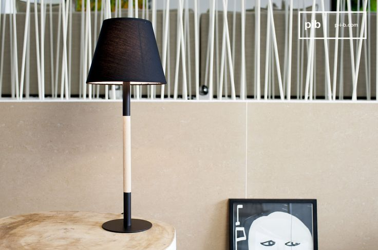 La lampada da tavolo Palitö  è un oggetto che porterà un tocco di classe nei vostri interni.