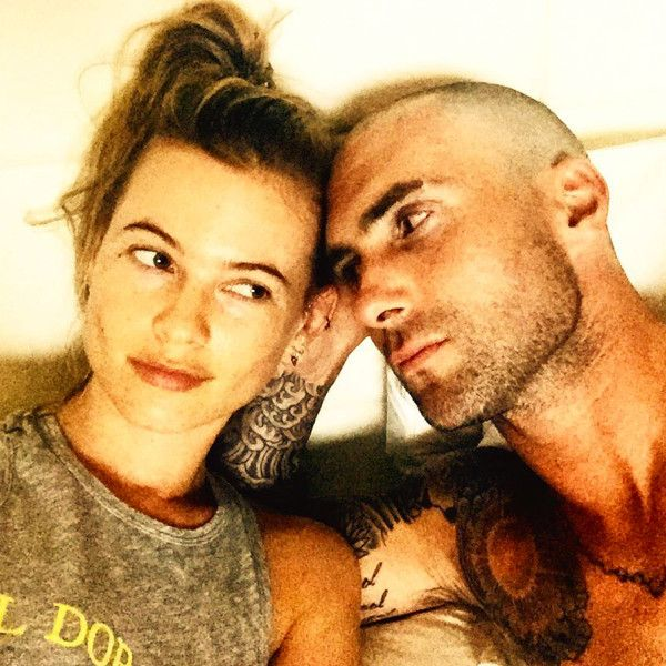 Adam Levine Goes Bald, But Says Wife Behati Prinsloo Is Still Into Me...I Think