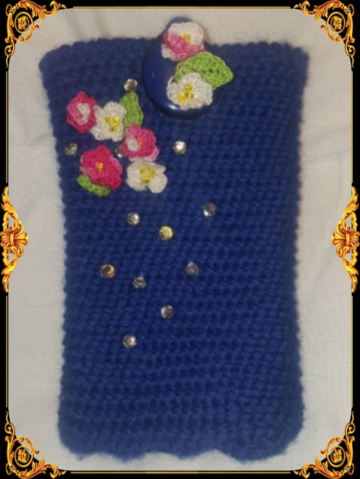 A small cosy for a sweet girls phone. 😍